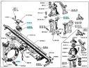 Suspension moteur et boite vitesses