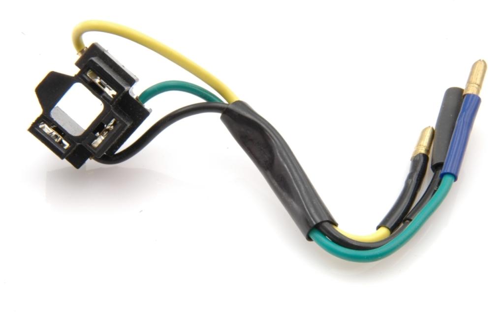 Phares: Connecteur de lampe.