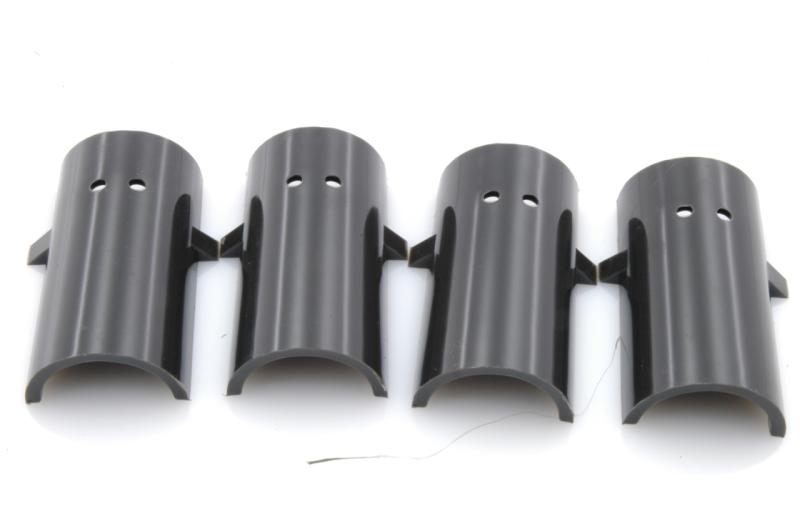 Barres anti-roulis: Demi-coussinet (nylon), 2 gorges int.