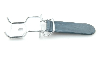 Fixation tapis: Tirette (nylon) + Plaquette (t