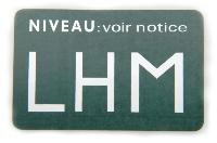 Autocollant: Niveau reservoir LHM.